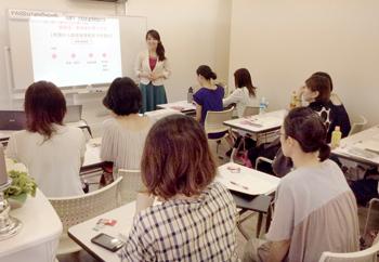 新宿 貸し会議室 ソレイユ新宿(女性向けセミナーご利用風景)